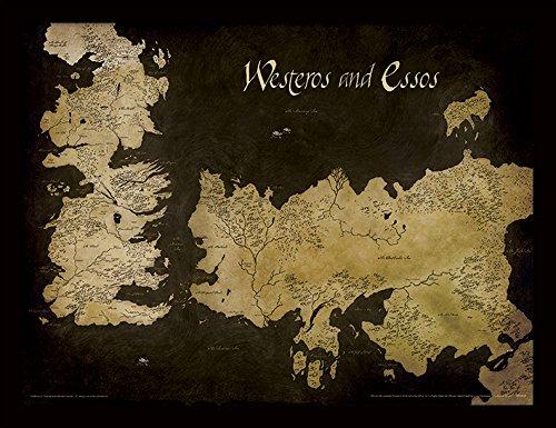 Game of Thrones FP11393P-PL Objet Souvenir, Multicolore, 30 x 40 cm