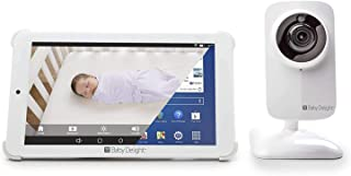 Baby Delight Baby Delight 7 Inches HD Tablet WiFi Monitor, White, White,