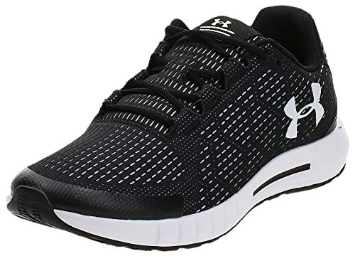UNDER ARMOUR Men's Micro G Pursuit SE Running Shoe, Black (003)/White, 10
