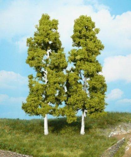 Heki 1920 Birkenbäume, 2 Stück, Höhe 18 cm, Mehrfarbig