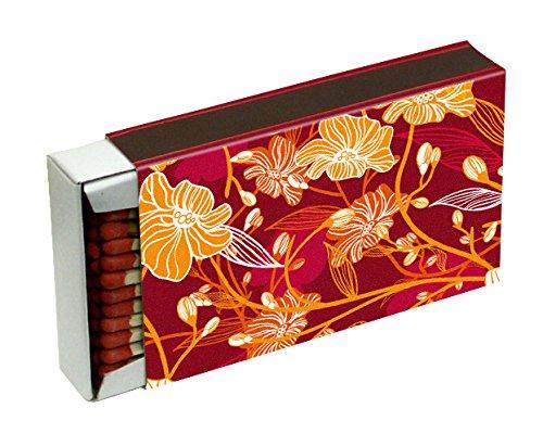 20 Schachteln à 50 Zündhölzer für Grill, Kamin und Kerzen Camino 10 cm (1000 Streichhölzer), Motiv Dekor KM Match Art. 1529/s