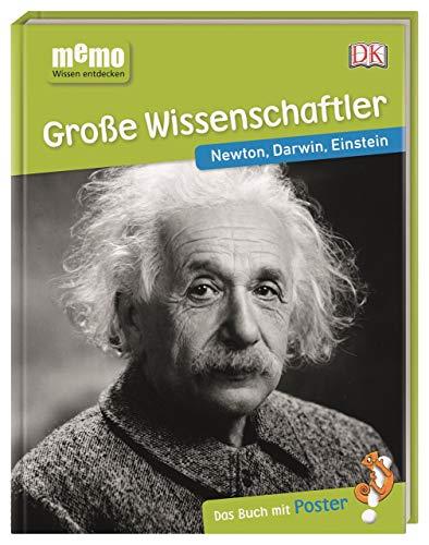 memo Wissen entdecken. Große Wissenschaftler: Newton, Darwin, Einstein. Das Buch mit Poster!