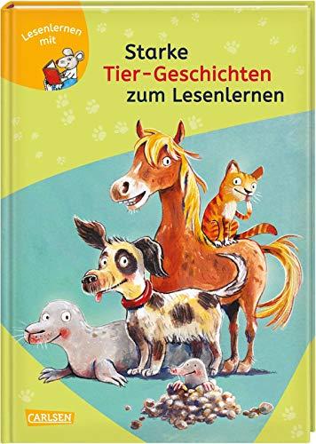 LESEMAUS zum Lesenlernen Sammelbände: Starke Tier-Geschichten zum Lesenlernen: Einfache Geschichten zum Selberlesen – Lesen üben und vertiefen