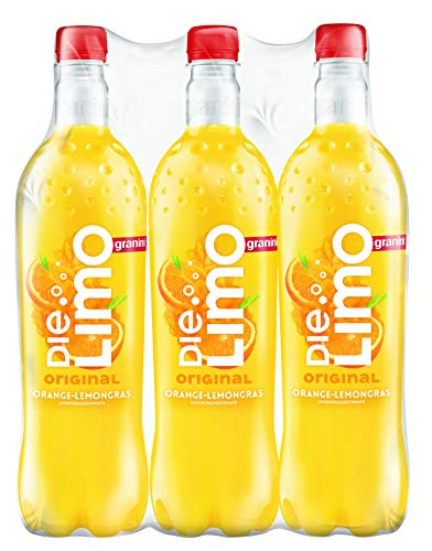 Die Limo Original Orange-Lemongras PET, 6er Pack, EINWEG (6 x 1 l)