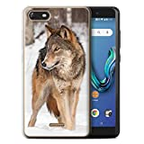 Stuff4 Phone Case for Wiko Tommy 3 Wildlife Animals Wolf
