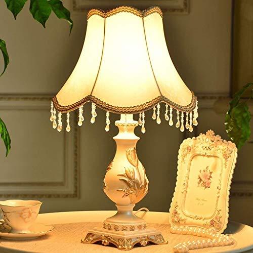 Allamp Norte de Europa Lámparas de Mesa, Simple Europea Pastoral Creativa Minimalista lámpara de iluminación Decorativa, S Dormitorio de Noche Lámparas de Mesa, luz de la Noche de Lectura