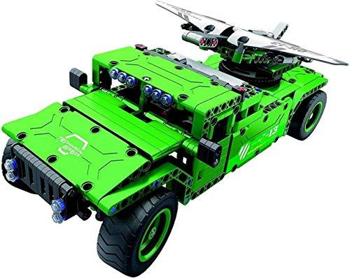 Modelo de juguete Juguete con Ladrillos aérea Aviones no tripulados de construcción de Juguetes de Radio Control, 506 Piezas Kit USB con batería Recargable, Regalo for los niños