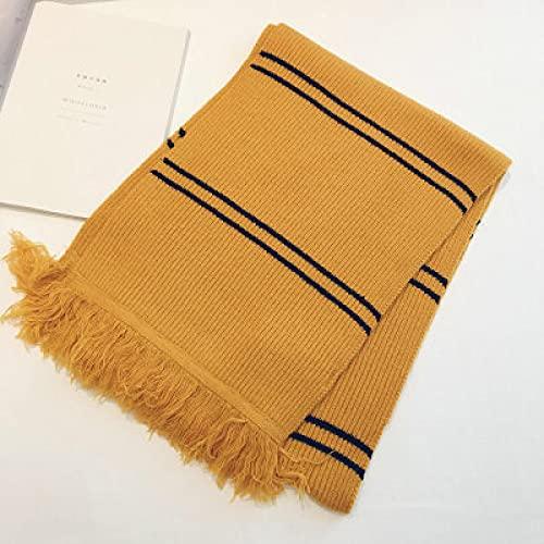 Sciarpe Moda Imitazione Donna Vintage Stripe Nappa Inverno Caldo Lungo Avvolgere Scialle Confortevole Morbido Selvaggio Femminile Sciarpa Kintted Ones