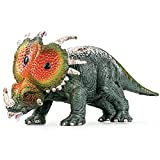 Hitish Realistic Dinosaur Model, Plastic Simulation Figures Styracosaurus Decoration Model Early Educational Jurassic Period Action Figure Dino Collection Toy Gift for Kids