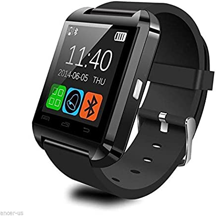 Amazon.com: SolarM Bluetooth Smart Watch Bracelet Wristband ...