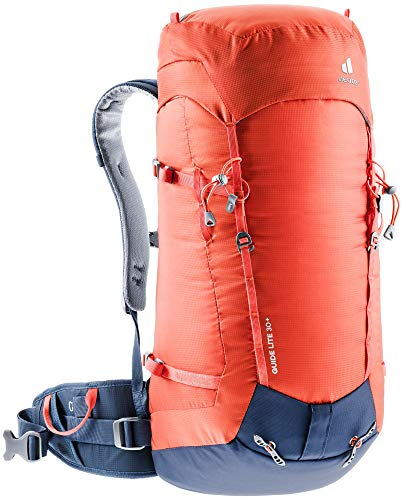 Deuter Guide Lite 30+, Zaino Alpino. Unisex-Adulti, Papaya-Navy, 6 L