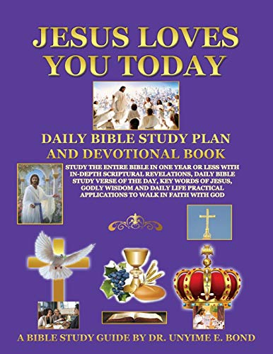 Jesus Loves You Today Daily Bible Study Plan and Devotional Book