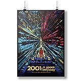 Vintage 2001 A Space Odyssey Iconic A0 A1 A2 A3 A4 Satin