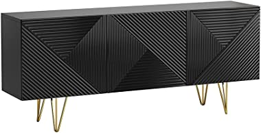 "Giza 3D 63"" Sideboard (Black)"