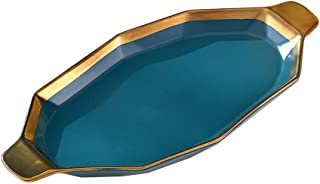 Lasagna Pan Nordic Creative Ceramic Dinner Plate Tableware Household Plate Baking Dish for Home Multi Baker Dish (Color : ...