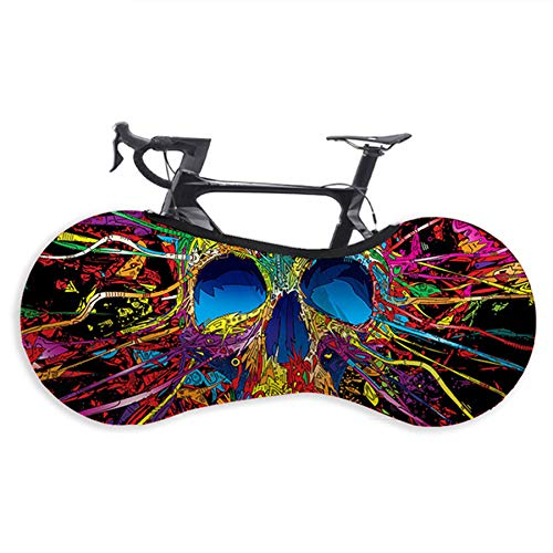 L-SLWI Bicycle Wheel Cover Washable Elastic Anti-Dust Suitable for Tires of 26-29 Inches Bike,Color 4