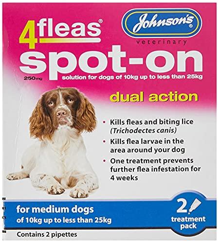Johnson s 4Fleas Spot-On for Medium Dogs