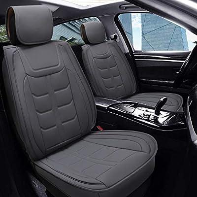 PLTCAT 5 Car Seat Covers Full Set, Whole-seat C...