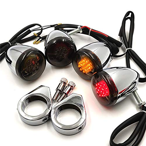 Best motorcycle turn signals led chrome for 2021