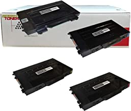 Toner Cartridges Compatible with Samsung CLP-510 Set of 4 Laser Toner Cartridges (1 Black, 1 Cyan, 1 Yellow, 1 Magenta)