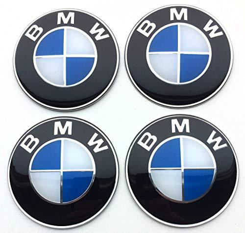 4 Rad mitte kappen aufkleber 65 mm selbstklebendes BmwEmbleme logo radkappen felgenkappen