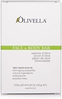 Olivella All Natural 100% Vigin Olive Oil Face & Body Soap, Original 5.29 oz (Pack of 11)