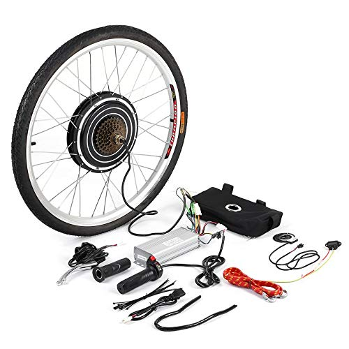 ZicHEXING 1000W 48V Professional Electric Bicycles E-Bike 26inch Rear Wheel Conversion Kit Cycling Brushless Motor Best Replacement