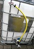 CMTech GmbH Montagetechnik s196W13593ymk34Bec Adaptateur avec robinet, IBC Adaptateur de réservoir d'eau de pluie de Accessoires de conteneurs Mamelon de Bidon