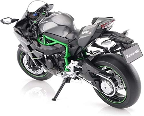 LHT Kawasaki H2R Little Ninja Model 1:12 Racing Simulation Aluminum Alloy Still Motorcycle Model Gift Favorites Decoration Toy Best Gift Toy Motorcycle