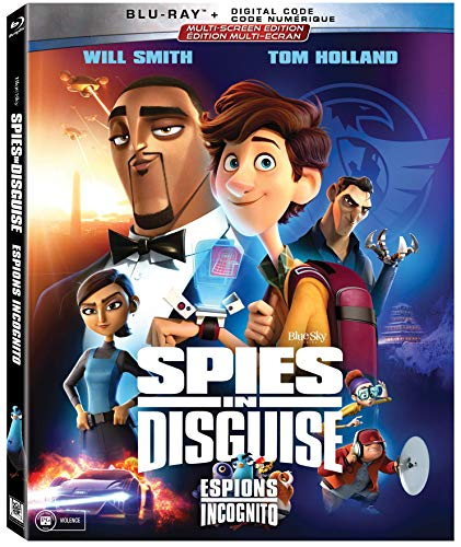 Spies In Disguise [Blu-ray] (Bilingual)