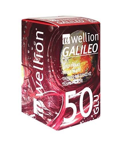 Wellion Galileo Blutzucker-Teststreifen, 50 Stück