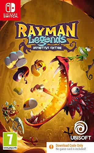 Rayman Legends Definitive Edition (Code in Box) - Nintendo Switch [Edizione: Regno Unito]