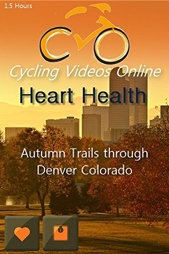 Heart Health. Autumn Trails Through Denver Colorado. Indoor Cycling Training / Spinning Fitness and Workout Videos by na