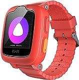 Elari 3G Reloj Inteligente Niño y Niña GPS Localizador y Llamadas Bidireccionales Audio y Video, Chat de Voz, Botón SOS, Impermeable, Cámara, MP3 Musica, Juegos KidPhone 3G (Rojo)