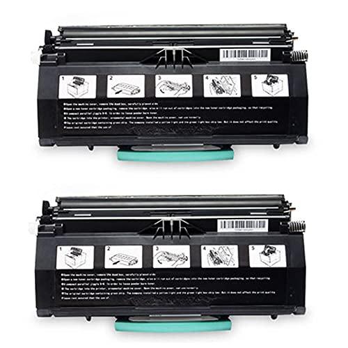 HYYH Reemplazo de Cartucho de tóner Compatible para DELL 1700 1700N 1710 1710N Impresora para DELL 1700 con Tambor de Tambor con láser de Chip, impresión Suave, Escuela 2-Black ⭐