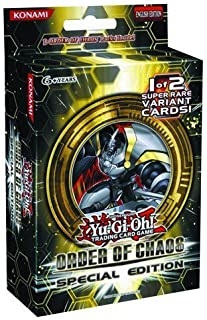 YuGiOh Order of Chaos SE Special Edition Pack 3 Booster Packs 1 Random Promo Card