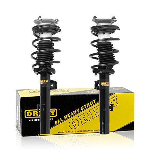 OREDY Front Pair Driver & Passenger Side Complete Struts Shocks Coil Spring Assembly 11373 11374 Compatible with BMW 135i 128i 335i 328i 2008 2009 2010 2011 2012 2013/BMW 330i E90 E90 2006
