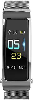 Reloj Inteligente con Auriculares, Pantalla a Color Rastreador de Ejercicios, Reloj Pulsómetro Monitor de Sueño Podómetro Bluetooth, Llamar SMS SNS Recordar