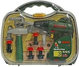 13 pi/èces garcon fille DEDE kit de r/éparation pour enfant 3 ans + boite /à outils jouet bricolage avec mallette