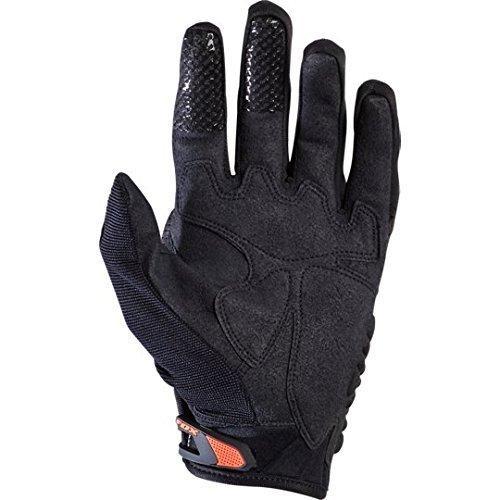 Fox Herren Handschuhe Bomber, Black/Orange, M, MTB15S-03009-016 - 2