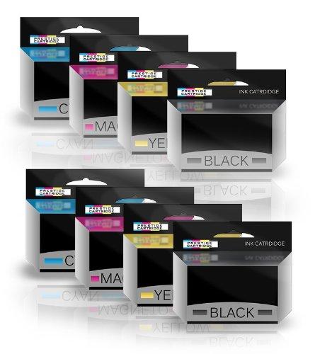 Combo Pack - Kompatibel LC127XL / LC125XL mit Chip Tintenpatronen für Brother Drucker DCP-J4110DW, MFC-J4410DW, MFC-J4510DW, MFC-J4610DW, MFC-J4710DW - Zwei Sets