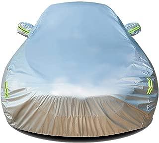 SWB 車体カバー ランチアストラトスカスタムカーカバーカーターポリンサンプロテクション雨ダスト不凍液肥厚絶縁オックスフォード布カスタムカーカバーAターポリンと互換性のカスタムカーカバー (Color : Silver)