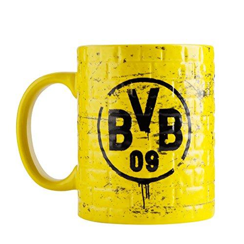 Borussia Dortmund, BVB-Tasse Gelbe Wand, Gelb, 0