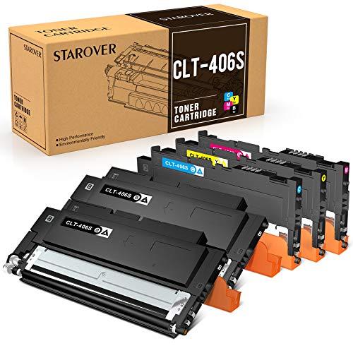 STAROVER 5 CLT-406S CLT-K406S CLT-C406S CLT-M406S CLT-Y406S Compatibile Toner Per Samsung CLX-3300 CLX-3305 CLX-3305W CLX-3305N CLX-3305FW CLX-3305FN CLP-360 CLP-365 CLP-365W Xpress C410W C460FW C460W