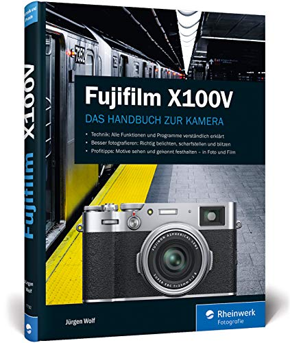Fujifilm X100V: Das Handbuch zur Kamera