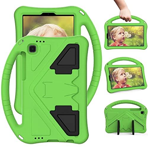 GUOQING Funda de tablet PC para niños Funda para Samsung Galaxy Tab A7 Lite Case 2021 8.7' SM-T225/T220, para niños Eva a prueba de golpes, ligera, a prueba de caídas (color: verde)