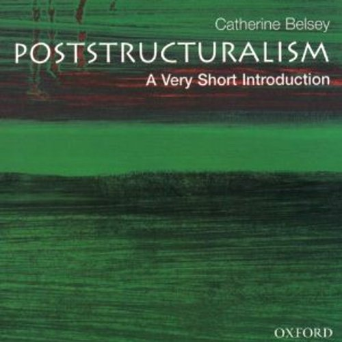 Poststructuralism: A Very Short Introduction audiobook cover art