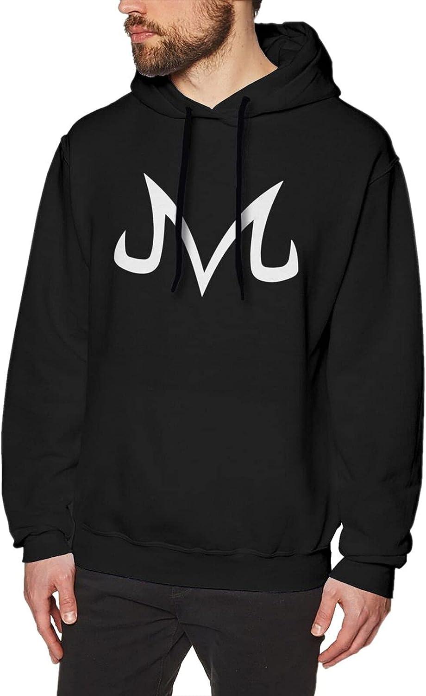 Majin Buu Hoodies For Men Fashion Soft Cotton Sweatshirts Black
