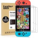 3-Pack iVoler Screen Protector Tempered Glass for Nintendo Switch