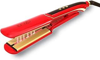 ENZO Hair Straightener- Ceramic Plate Ultrasonic Infrared with Keratin Hair Serum